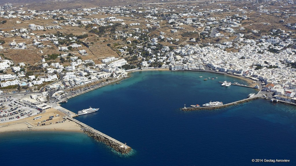 Mykonos-The-old Port (Overview)