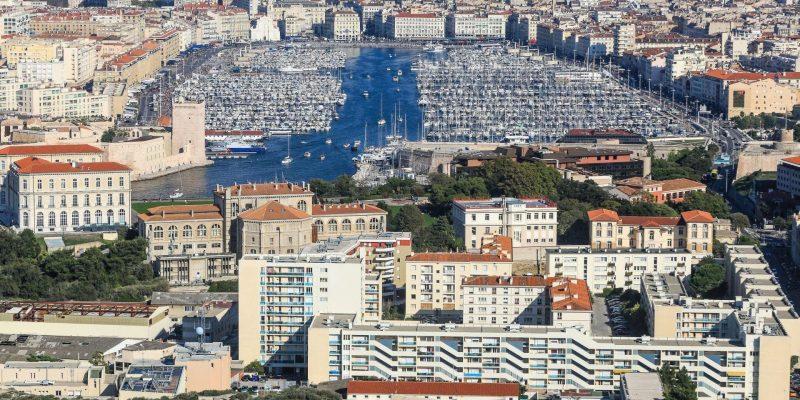The coastline of France