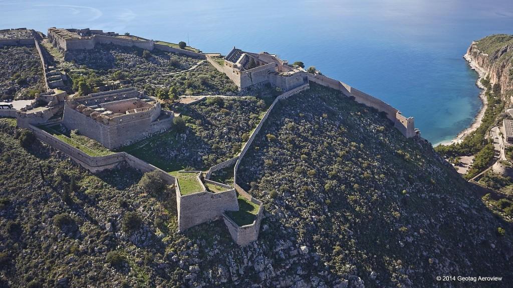 Europe, Mediterranean, Greece, Argolida, Nafplio, Palamidi castle