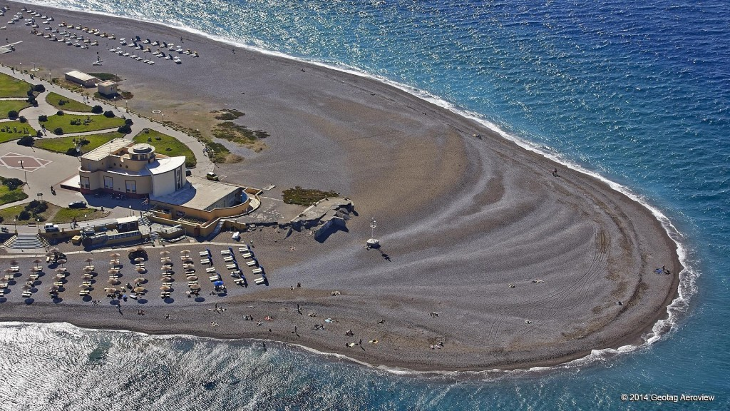 Aerial photo of Aquarium in Rhodes by Tripinview