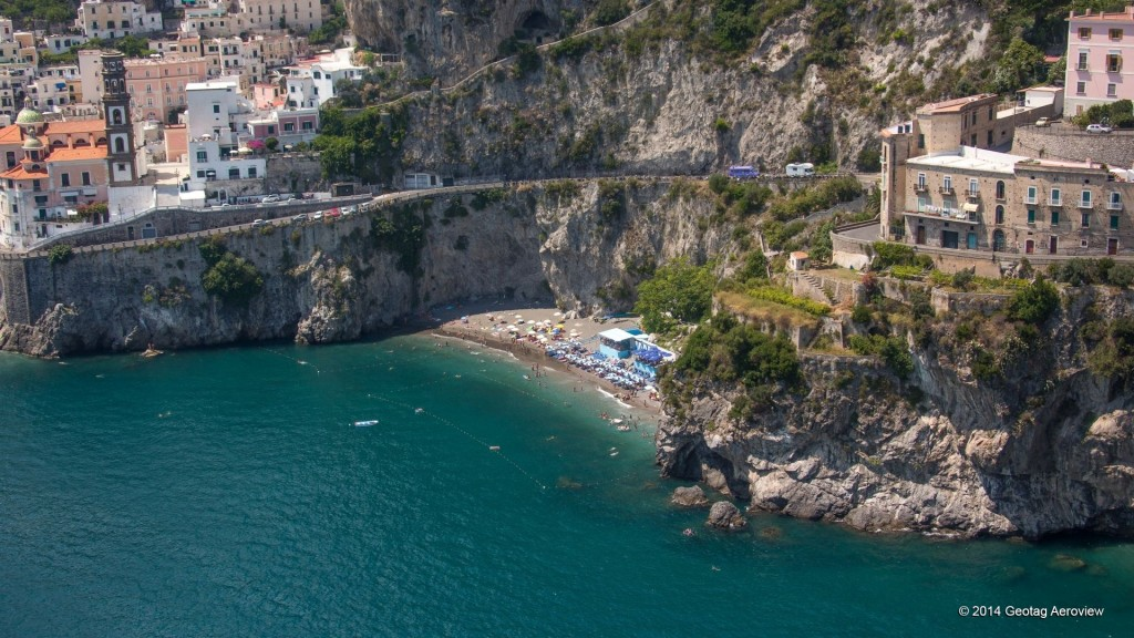 Aerial photo of Ravello in Amalfi coast by Tripinview