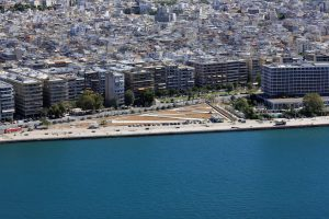 The new pier of Thessaloniki
