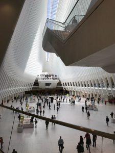 Calatrava's WTC transportation hub