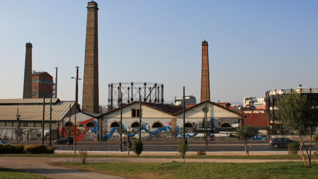 Technopolis at the place of the Old Gas factory after its conversion to a Museum and cultural hub