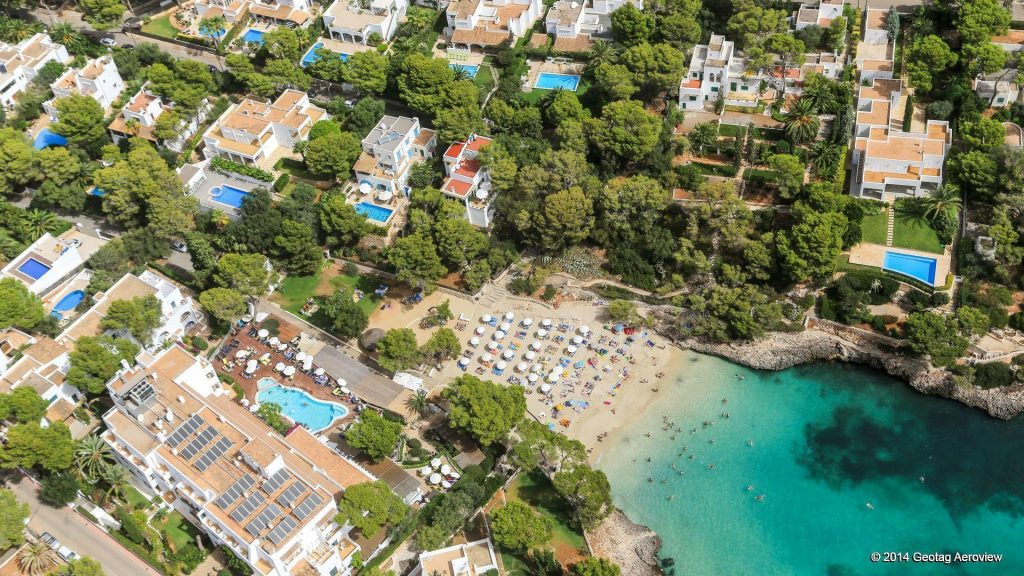 Mediterranean vacation to Cala d'Or and that means (the golden bay). This is truly correct when it comes to Cala d'Or - Mallorca - Balearic Islands - Spain
