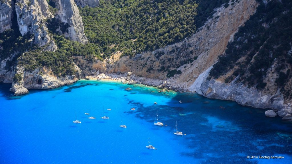 Cala Goloritze Sardinia, taly is a well known beach in Sardinia