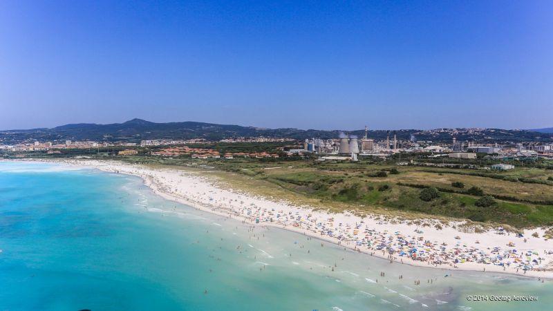 Rosignano Solvay beach
