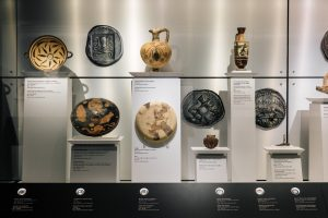 Coins and Exhibits-Cycladic Arts Museum
