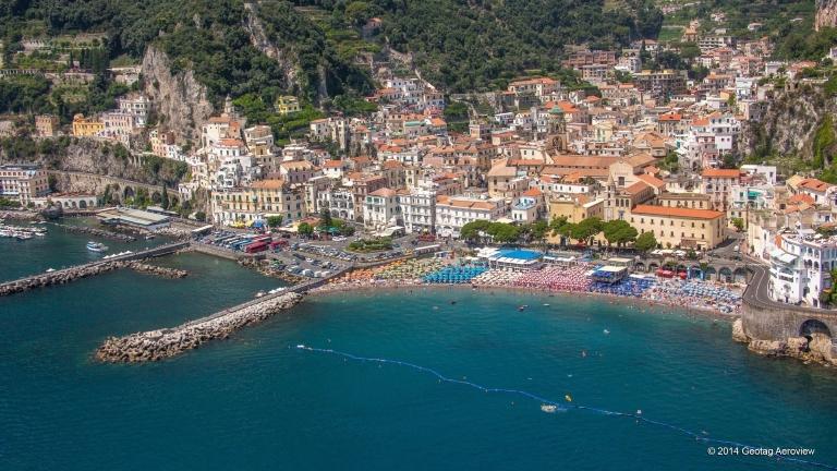 Amalfi coast, Capmania, Italy