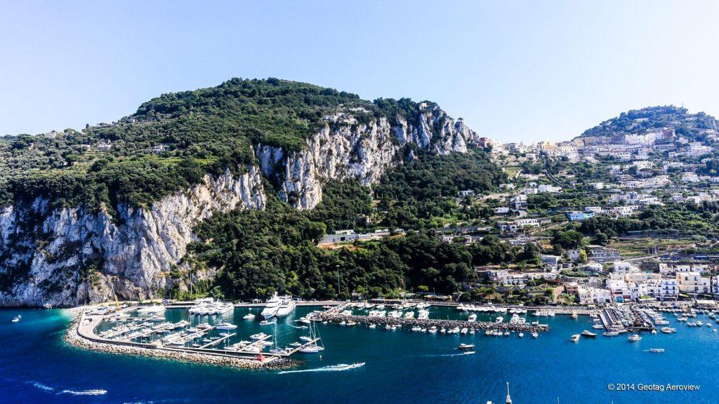 Aerial view of Capri - Campania - Italy