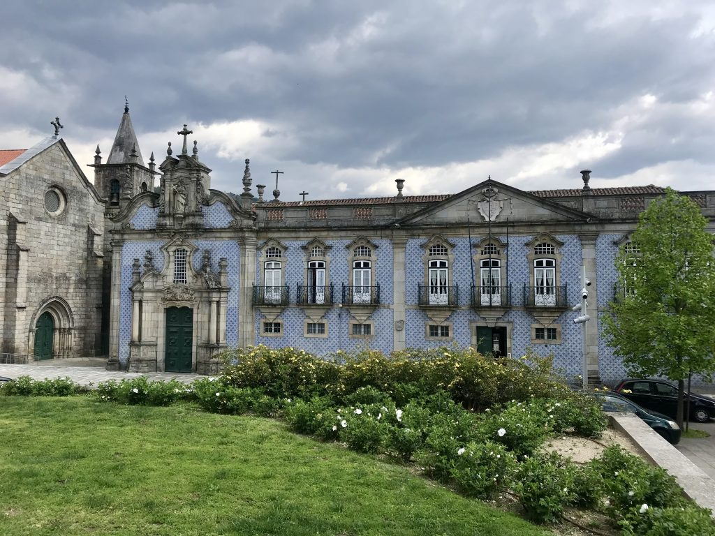 Typical old building in Porto