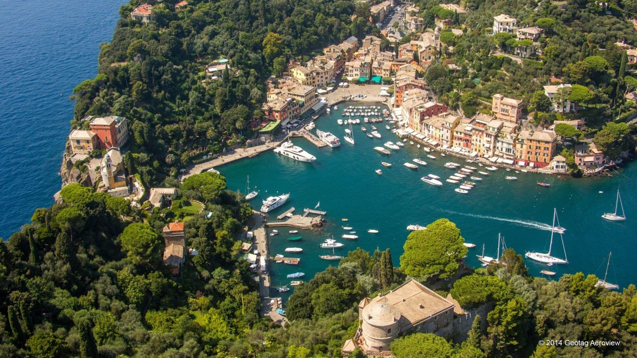 Portofino in Italy is an elegant and luxurious Destination