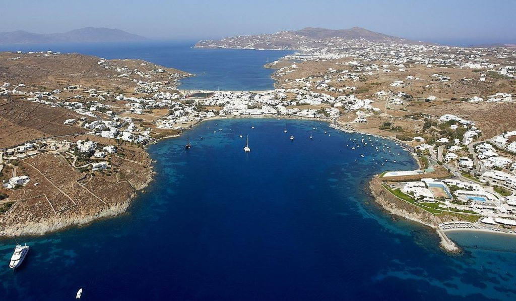 Ornos bay - Mykonos
