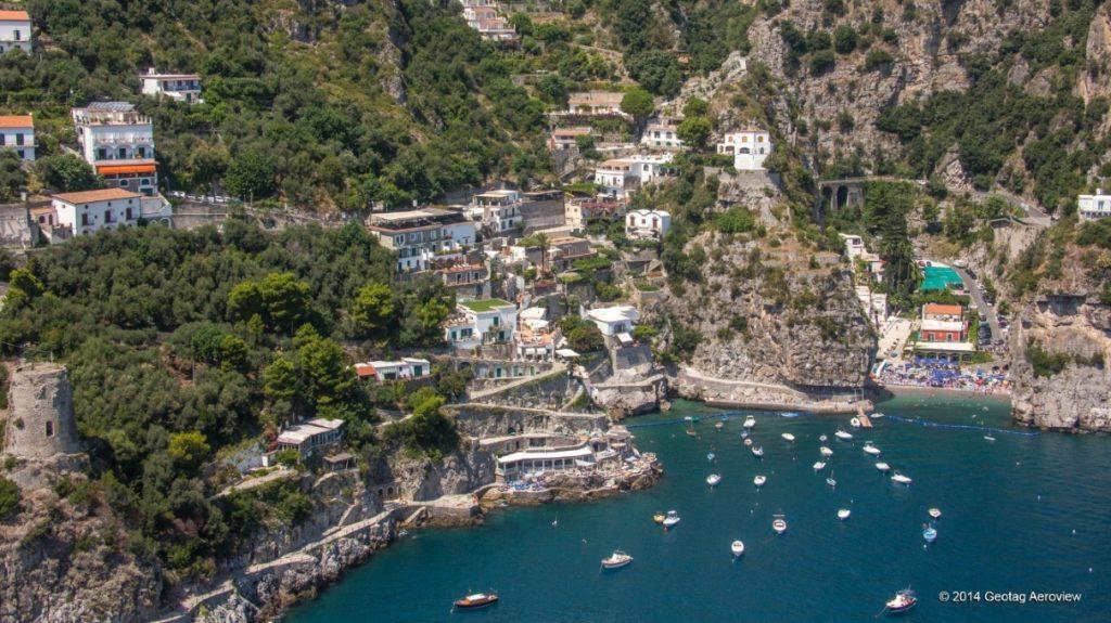 Amalfi soast. Onda the tiny village